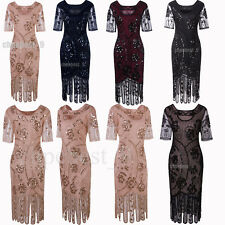 1920s Dress Flapper Costume Vintage Gatsby Party Gowns Womens Clothing Plus Size