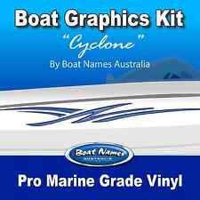 Boat Graphics Kit - Cyclone