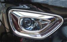 For Jeep Grand Cheroke 2014 2015 2016 Chrome Front Bumper Fog Light cover trim