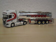"Herpa - Scania CR HD Chromtank-Sattelzug ""Willi Wewer"" - 306324 - 1:87"