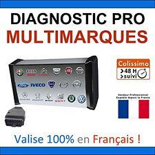 Valise Appareil Diagnostique Multimarque En Français OBD 2 Diagnostic MPM COM