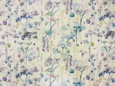 VOYAGE ilinizas Viola Naturale Tessuto per Tende Stampato Cotone diffusione EQUATORE