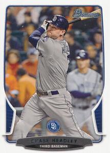 Chase Headley 2013 Bowman #66 San Diego Padres Baseball Card