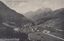 St. Anton am Arlberg von Osten AK 1911 Panorama Alpen Tirol Österreich 1611046