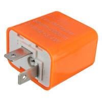 2 Pin Motorcycle Speed Adjustable LED Turn Signal Indicator Flasher Relay  W2I7