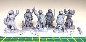 Lizardfolk - Echsenmenschen - Miniaturen 28mm Resin Tabletop Fat Dragon Games