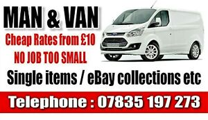 Man & Van Delivery & Collection Service. Rossendale Bacup Rochdale & surrounding