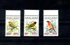 MALAWI, 2018, BIRDS definitive, O/P in Red  K600-I,K600-II,K900 3v.  MNH,NEW!