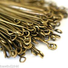 150pcs 35mm Antique Bronze Eye Pins
