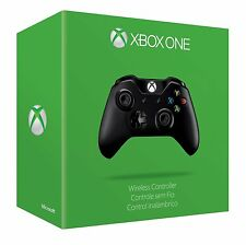 Microsoft Xbox One Wireless Controller - Black (Model 1697) (EX6-00001)