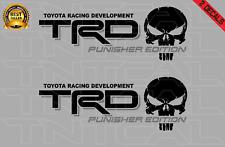 Trd Punisher Edition Decal Set Toyota Tacoma Tundra Vinyl Stickers Blackgray