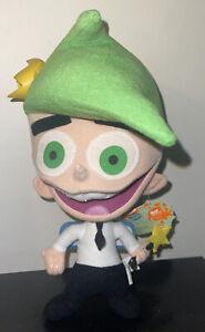 """New Nanco Fairly OddParents Cosmo Plush 2004 Rare APPLAUSE Nickelodeon 10"""""""