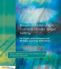 Baseline Assessment Curriculum and Target Setting for Pupils with Profound and
