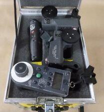 ARRI RCU-1 , ICU-1 , CLM-1 IRIS LENS CONTROL SYSTEM FOR 235 435 535 W/ CASE