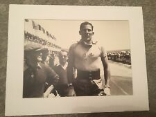 Stirling Moss Signed Mount