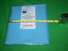 "One BULLETPROOF Block Spall Soft Trauma Plate 1 Level IIIA 10""X12"" Body Armor"