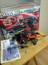 Tomy Zoids 1/72 Energy Liger 100% Complete with pilot & box & instructions