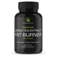 Nobi Nutrition Green Tea Fat Burner Supplement with EGCG - 60 Capsules