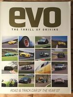 Evo Magazine #105 - June 2007 - Road & Track Car Of The Year 2007