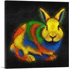 ARTCANVAS Rabbit Bunny Animal Canvas Art Print