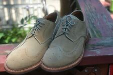 new Mens Oxford Saddle Vibrom shoes Mens / swede / Leather walk over sz 13