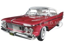 1961 CHRYSLER IMPERIAL CROWN PLUM 1:18 DIECAST MODEL CAR ROAD SIGNATURE 20138