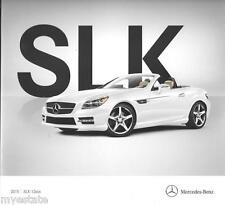 2015 15  Mercedes Benz SLK Class Convertible  Original  brochure