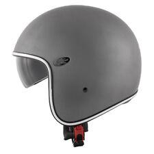 Casco jet fibra Kappa Kv29 titanio opaco M moto scooter helmet casque
