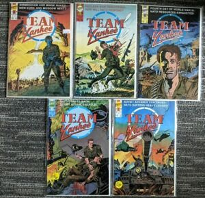 Team Yankee #2 3 4 5 6 *NEAR COMPLETE SET* (First 1988) Copper Age War Comic