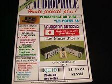 L'AUDIOPHILE<>DECEMBER 1988<>RARE FRENCH AUDIO MAGAZINE°#2 (NEW SERIE) (45)