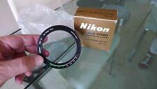 Nikon HN-12 lens shade, MINT & Boxed for use with Nikons Polarising Filter