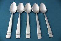 "5 Teaspoons Spoons Pfaltzgraff PASSAGE 18/0 Stainless 6"""