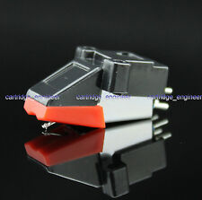 New 25pcs/lot M5S High output stereo MM cartridge transparent diamond stylus