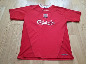 Mens Reebok Liverpool Home football shirt 2002 - 2004 Size M