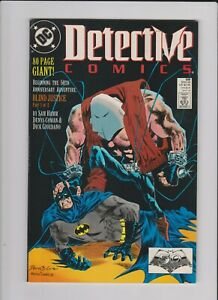 DETECTIVE COMICS BATMAN #598 BLIND JUSTICE PART 1 DC COMICS 1989 FN+