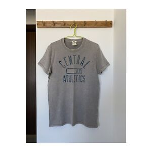 Abercrombie & Fitch A&F Muscle Fit T-shirt Grey Size S, hollister superdry style