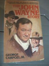 John Wayne story 1987 biography paperback George Carpozi 1979