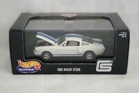 Hot Wheels 1:43 Muscle Car Series 1966 Shelby GT350 White w/Blue Stripes MIB