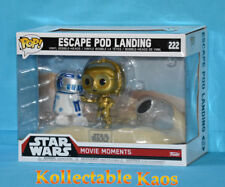 Star Wars - C-3po and R2-d2 Escape Pod Landing Movie Moments Pop Vinyl Figure