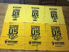 Nashville Predators 6 Pack Of Growl Towels From NHL Playoffs Round 3