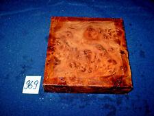 Rüster Maser Ulmenmaser   125 x 125 x 31 mm      Nr: 969