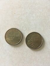 2 2000 US $1 coins in good condition