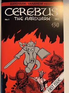 Proof #5 (50 copies) CEREBUS the Aardvark No. 1 comic book