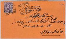 ITALIA REGNO: storia postale - Sass 58 su BUSTA da TORINO a BRESCIA 1890