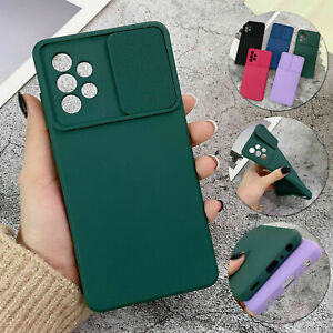 Camera Slide Protective TPU Case For Samsung Galaxy S20 FE S21 Plus Ultra Cover