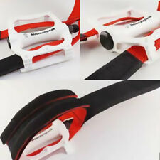 Cycling Bicycle Pedal Straps Nylon Feet Strap fit for Fixed Gear Black Part #AM8