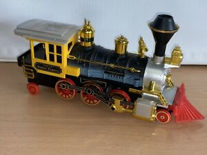 Vintage Battery Operated Plastic Toy Train, Denver Express