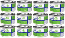 More details for 12 x ethanol chafing dish fuel chafer gel 2.5hr can bbq buffet catering camping
