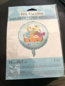 """Noah's Ark 18"""" Baby Shower Foil Balloon New!!!"""