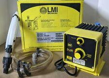 Milton Roy B131 75 Metering Pump 120v 5060 Hz 50psi Gph 450